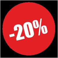 Скидка 20% 4, 10, 11 мая на все услуги