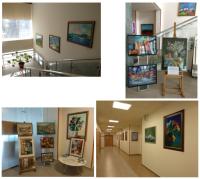 Выставка картин в ПАТЕРО КЛИНИК
